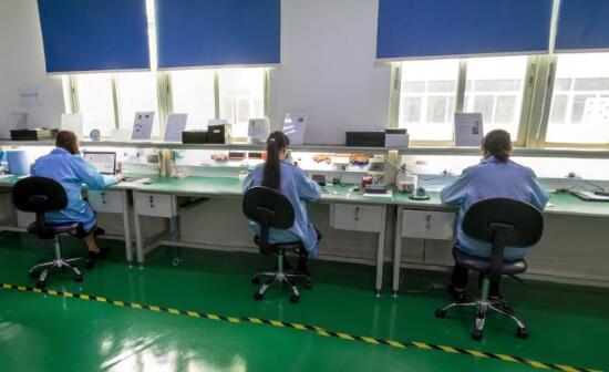 digita hearing aids production line